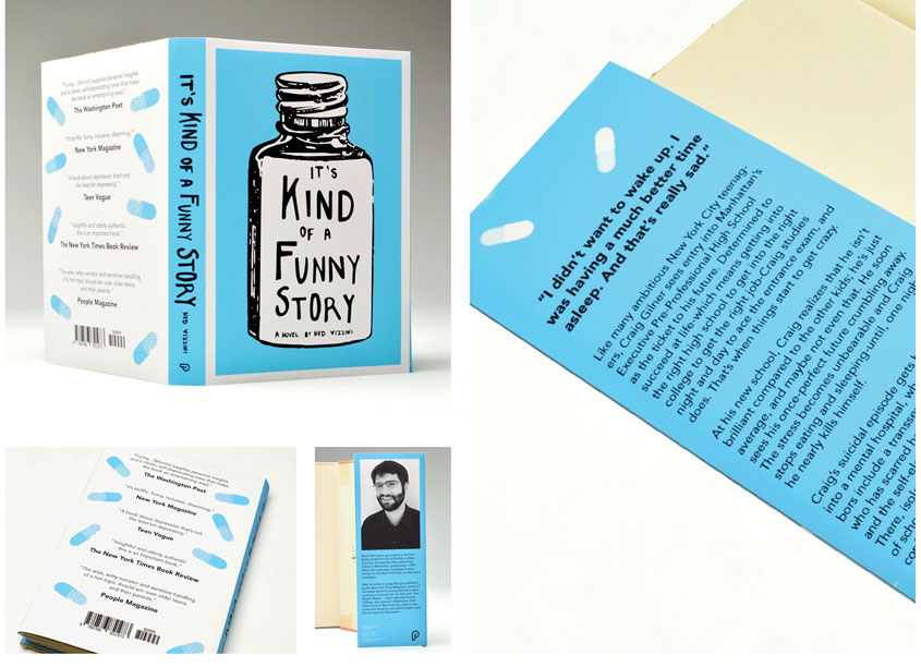 University of Central Oklahoma, School of Design Its Kind of a Funny Story Dust Jacket