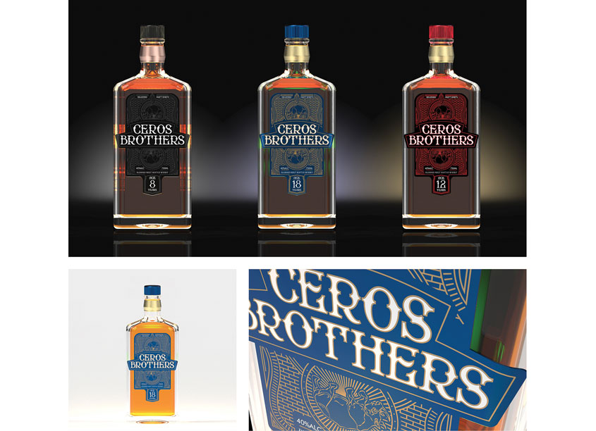 University of Central Oklahoma, School of Design Ceros Brothers Whiskey