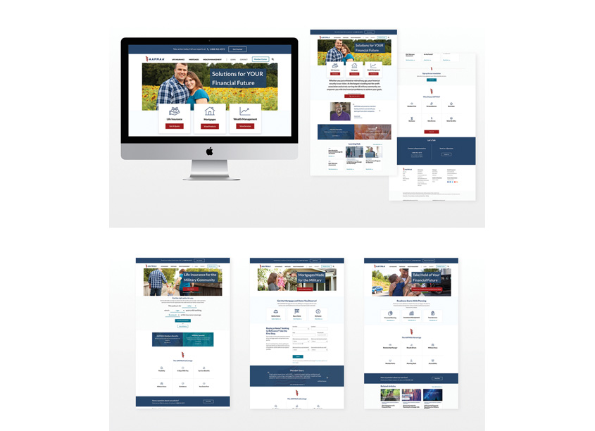 American Armed Forces Mutual Aid Association (AAFMAA) AAFMAA Website Redesign