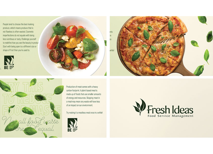 Food Waste Awareness Educational Social Video Campaign by Fresh Ideas Food Service Management