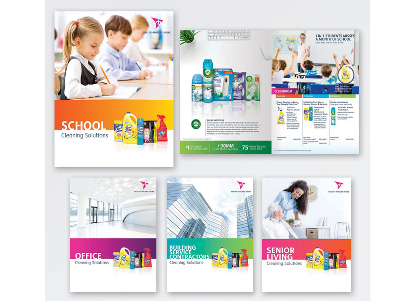 Professional Division Product Brochures by Vision Creative Group