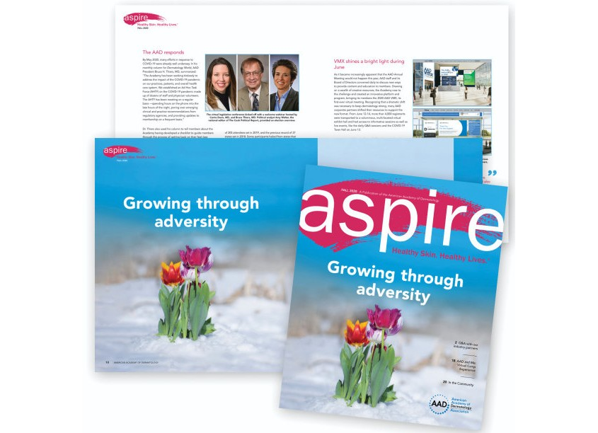 ASPIRE Magazine, Fall 2020 by American Academy of Dermatology (AAD)
