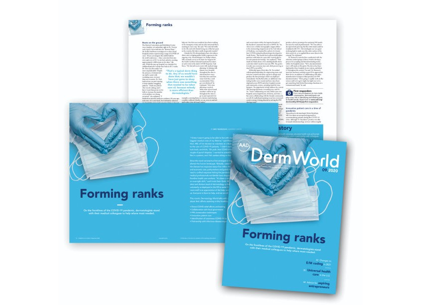 Dermatology World Magazine, September 2020 by American Academy of Dermatology (AAD)