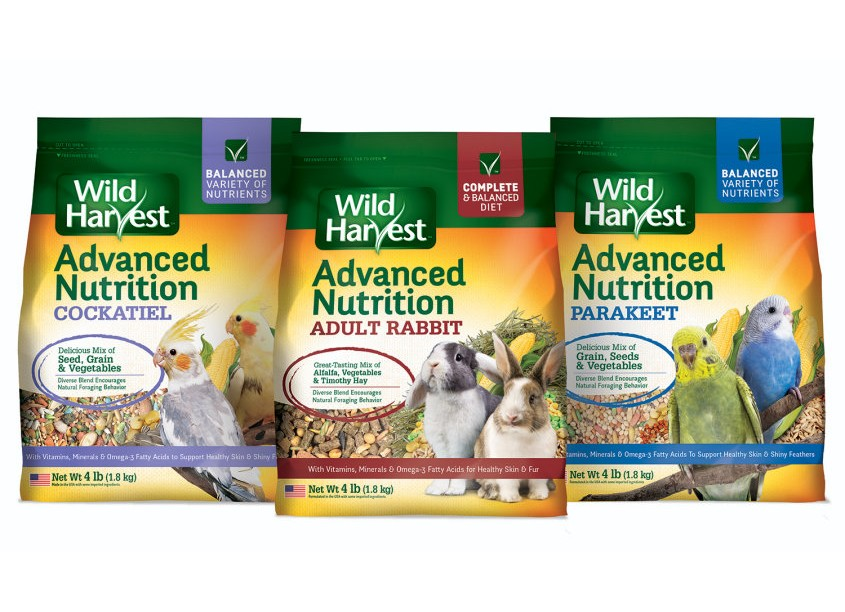 Wild Harvest® Advanced Nutrition Bird and Small Animal Food by Spectrum Brands - Global Pet Care and Home & Garden