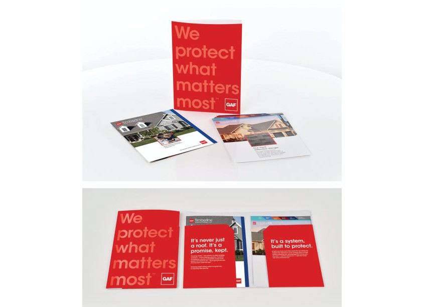 GAF/Creative Design Services GAF Collateral Kit System