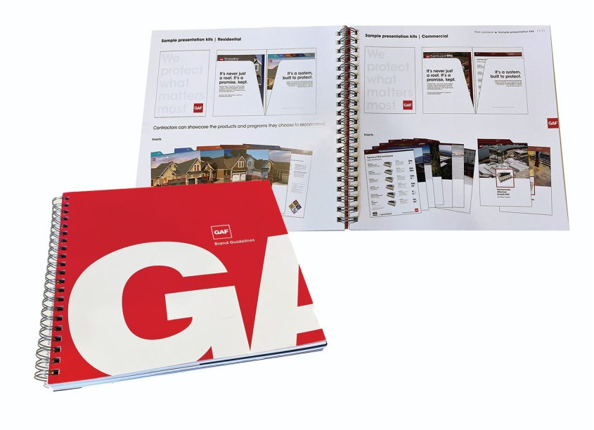 GAF/Creative Design Services GAF Brand Book