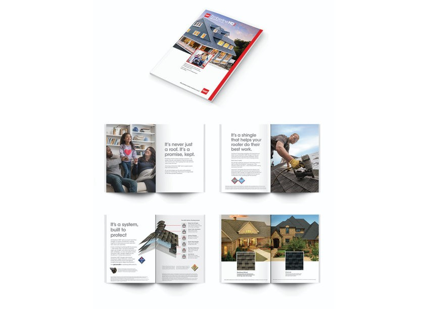 GAF/Creative Design Services Timberline HDZ Collection Brochure