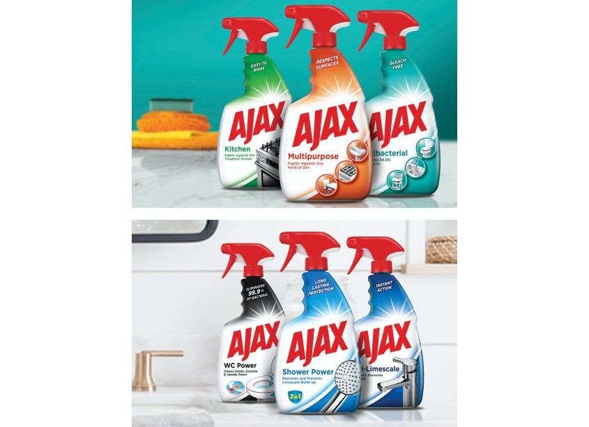Johnson And McGreevy - JAM Ajax Sprays Packaging