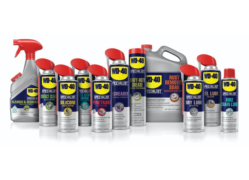 Johnson And McGreevy - JAM WD-40 Specialist Packaging