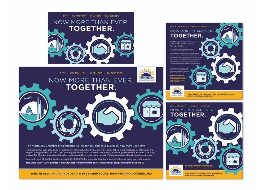 HB Design Better Together Campaign Branding
