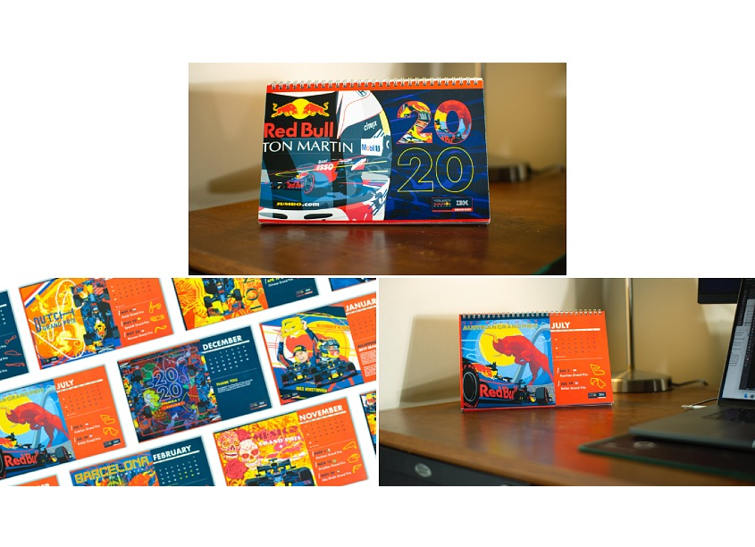 MKTG IBM/Red Bull Racing Formula 1 2020 Calendar
