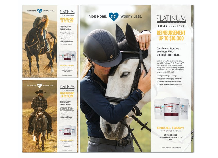 HB Design Colic Coverage Advertising Campaign