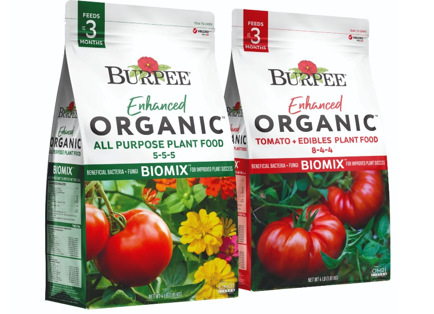 Burpee Enhanced Plant Food Packaging by Brian Schultz Design