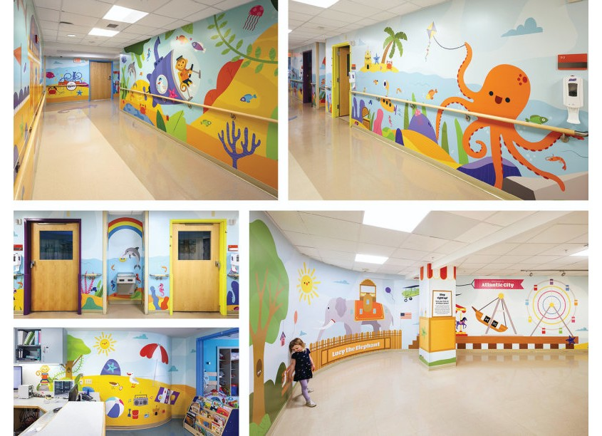 AtlantiCare Pediatric Wing by Pixel Parlor