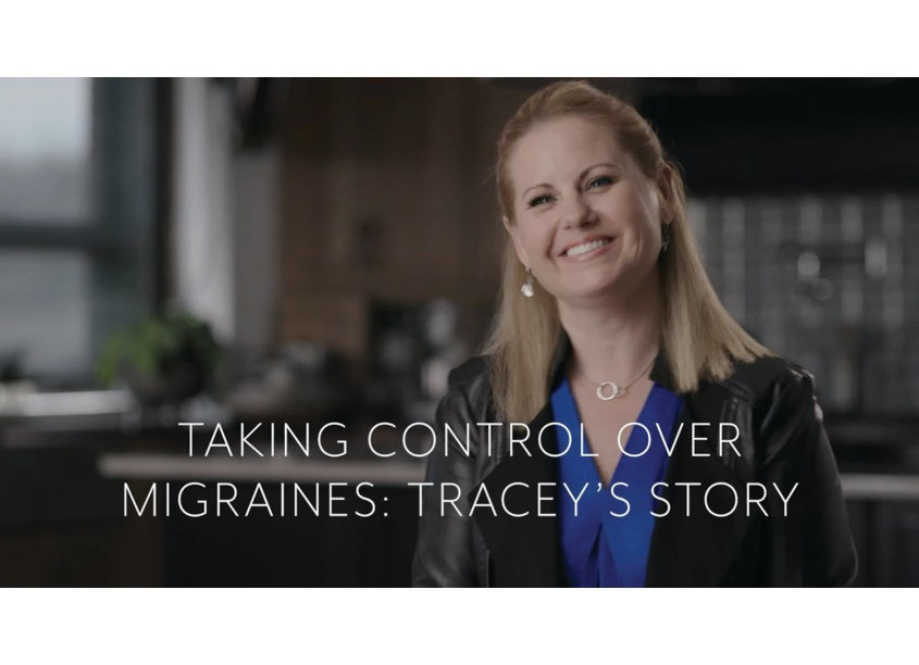 Integrated Marketing Services Taking Control Over Migraines: Tracey's Story