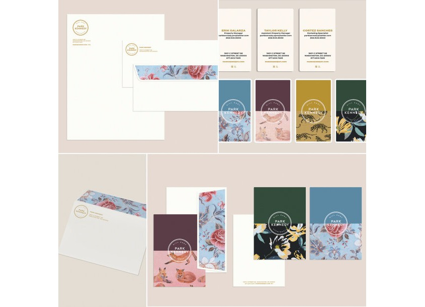 Park Kennedy Stationery by Streetsense
