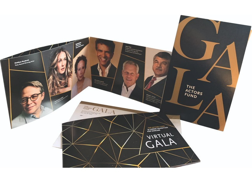 The Actors Fund Gala and Virtual Gala by Integrated Printing & Graphics