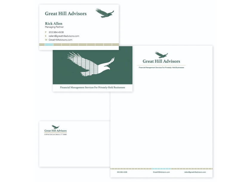 Great Hill Advisors Stationery by Worx Branding | Digital | Marketing