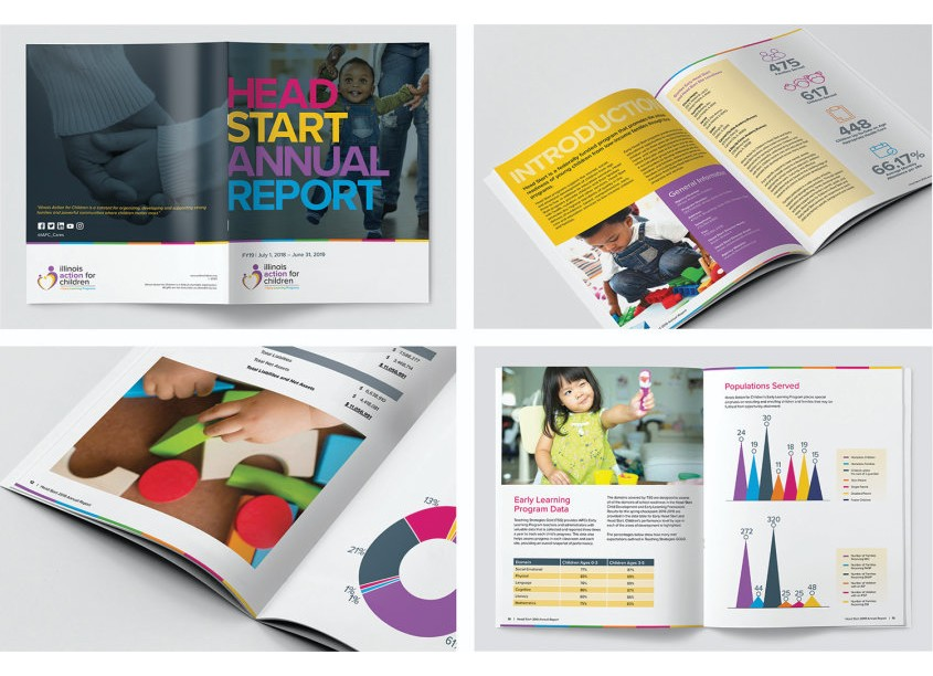 Lisa Cain Design Head Start Annual Report FY 19