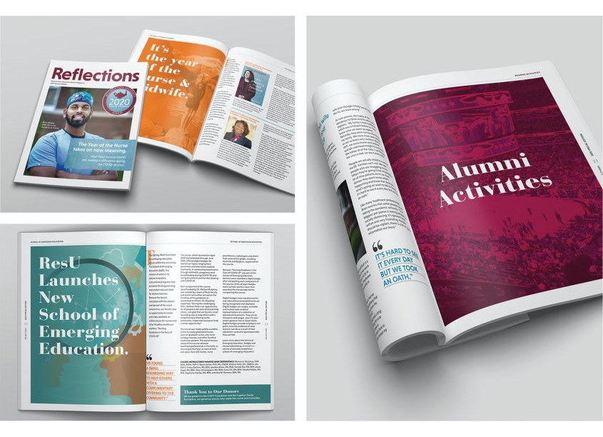 Reflections Alumni Magazine 2020 Special Edition by Lisa Cain Design