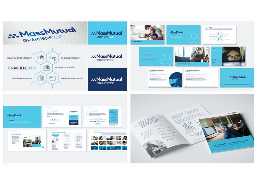 studio m/MassMutual Graphene XDP (Extreme Data Protection) Branding