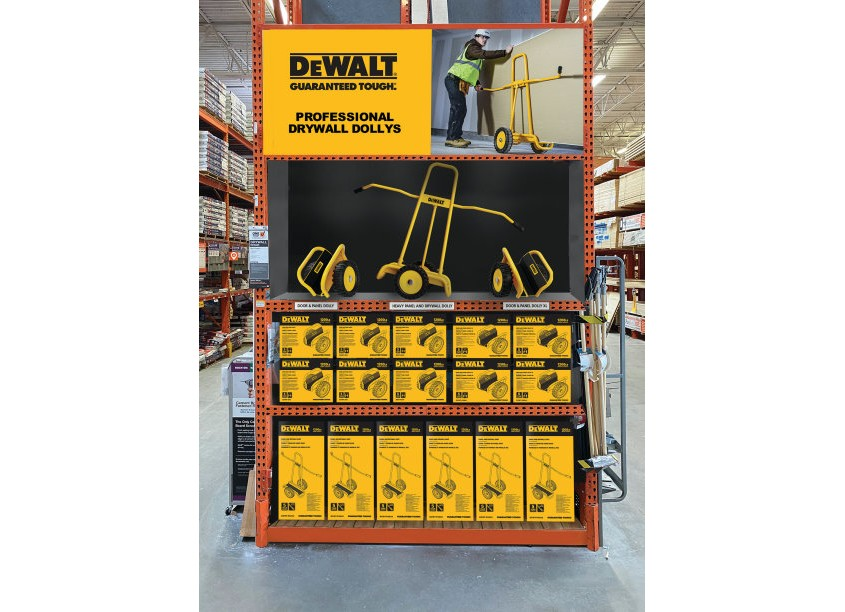 Dewalt Dollys Endcap by RRDG Randy Richards Design Group