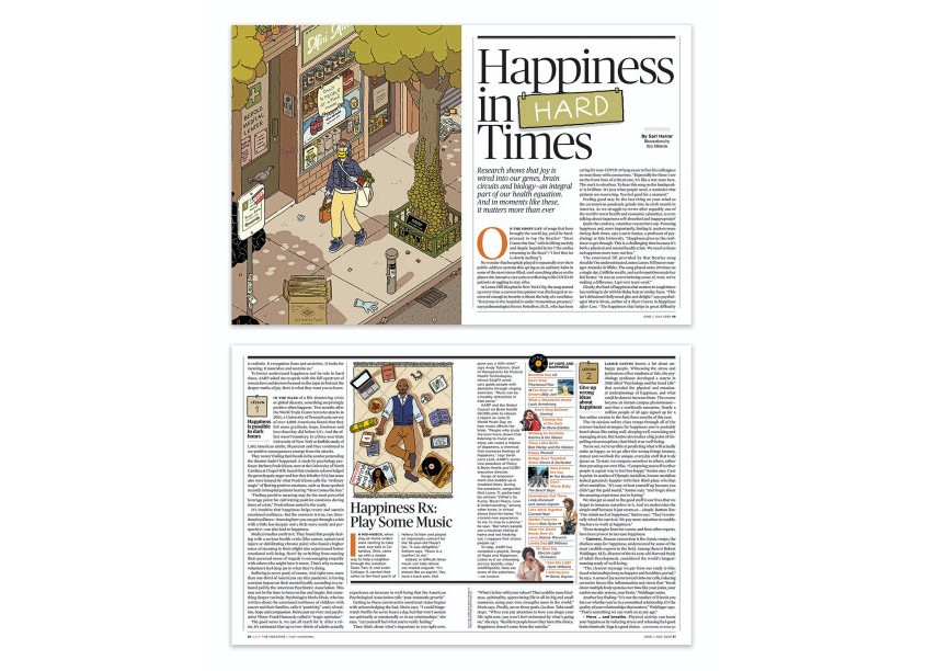 Happiness in Hard Times, June/July 2020 by AARP Media