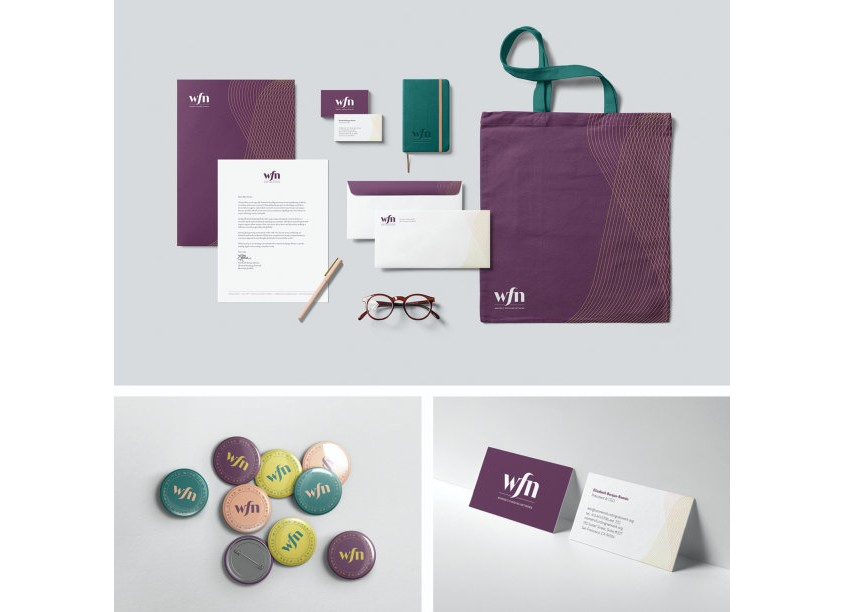 Kate Huff Design/Tugboat Consulting WFN Brand Identity