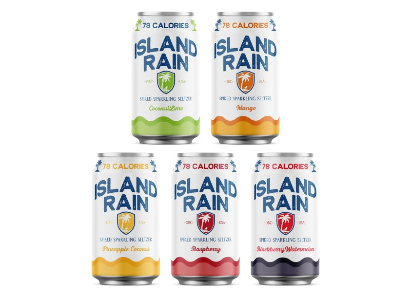 Island Rain Spiked Sparkling Seltzer by Nicholas McMillan