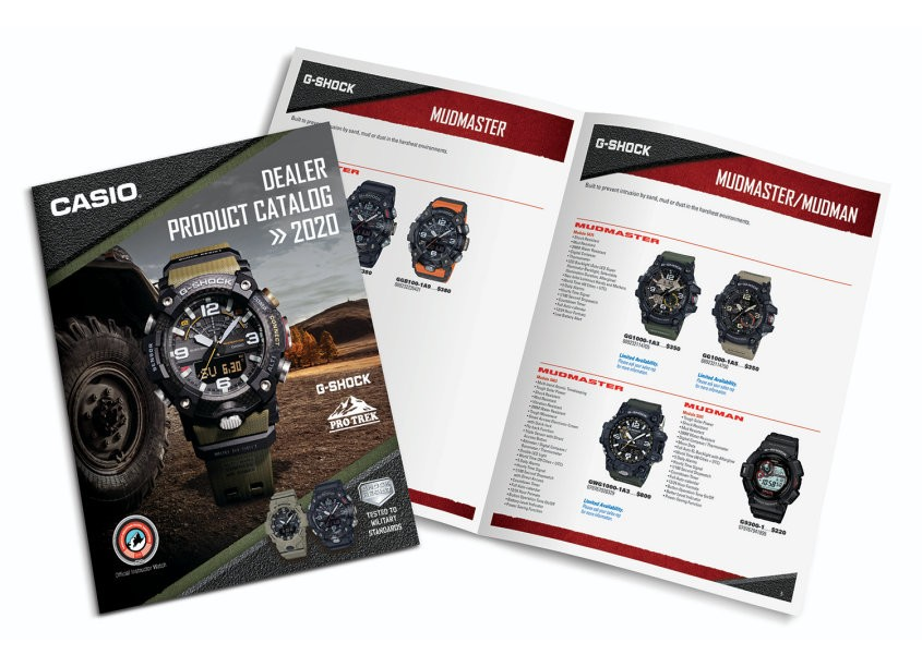 Vision Creative Group Casio Product Catalog
