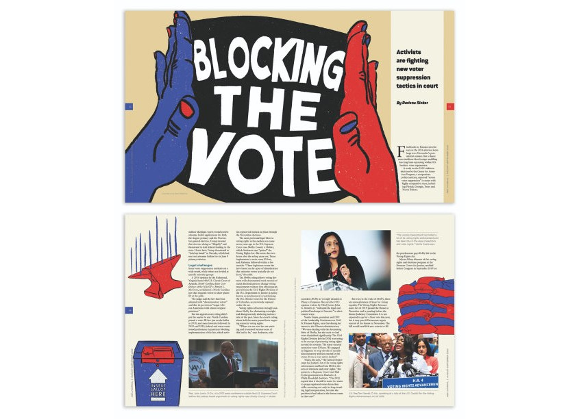 Blocking the Vote by ABA Creative Group/American Bar Association
