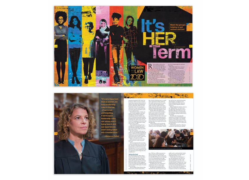 It's Her Term by ABA Creative Group/American Bar Association