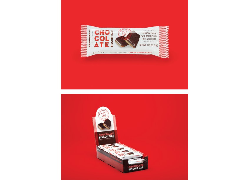 Ellen Bruss Design Chocolate Biscuit Bar Packaging