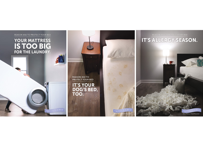 Protect-A-Bed 50 Reasons Advertising Campaign