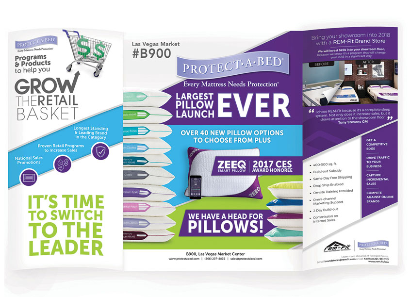 Protect-A-Bed Retail Programs Brochure by Protect-A-Bed