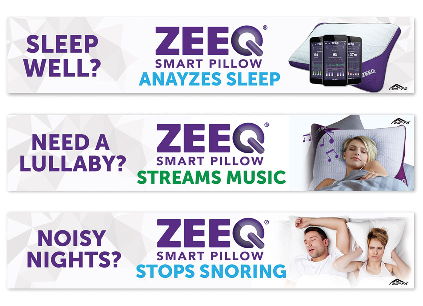 REM-Fit ZEEQ Web Banners by Protect-A-Bed