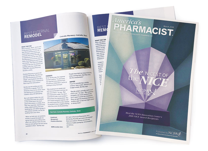 The Nicest of the NICE, March 2018 by National Community Pharmacists Association (NCPA)