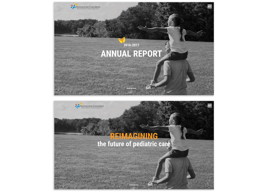 Nationwide Children's Hospital Annual Report 2016-17 Microsite by Nationwide Children's Hospital