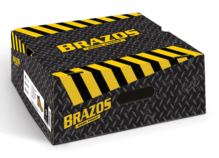 Academy Sports + Outdoors Brazos Work Boots Box