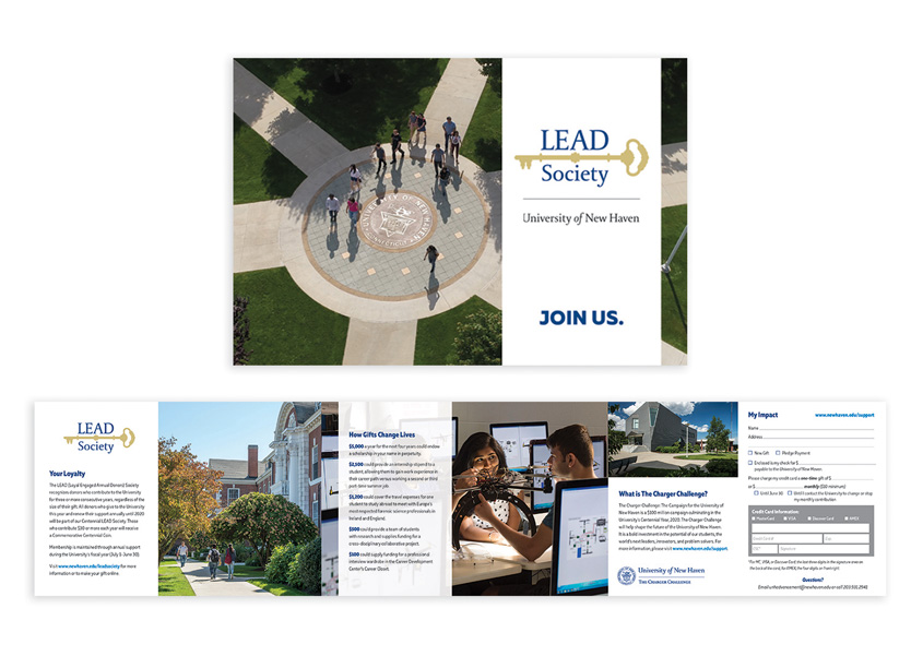 Lead Society Brochure by University of New Haven