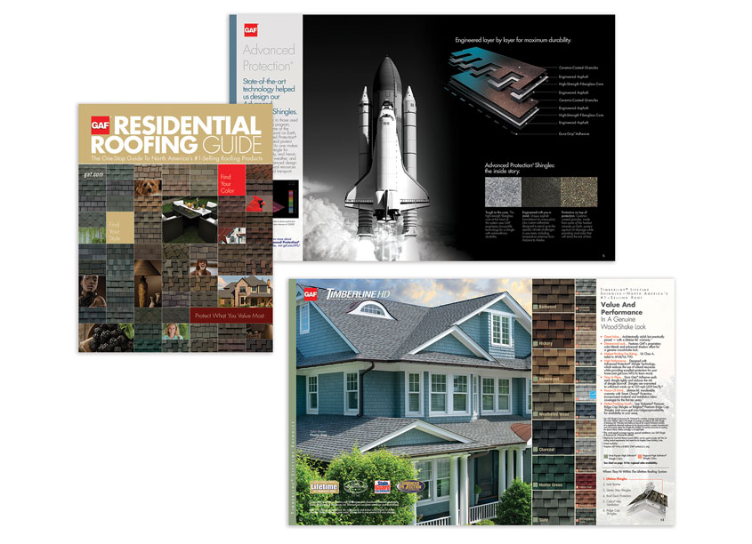GAF Creative Design Services Full Line Brochure