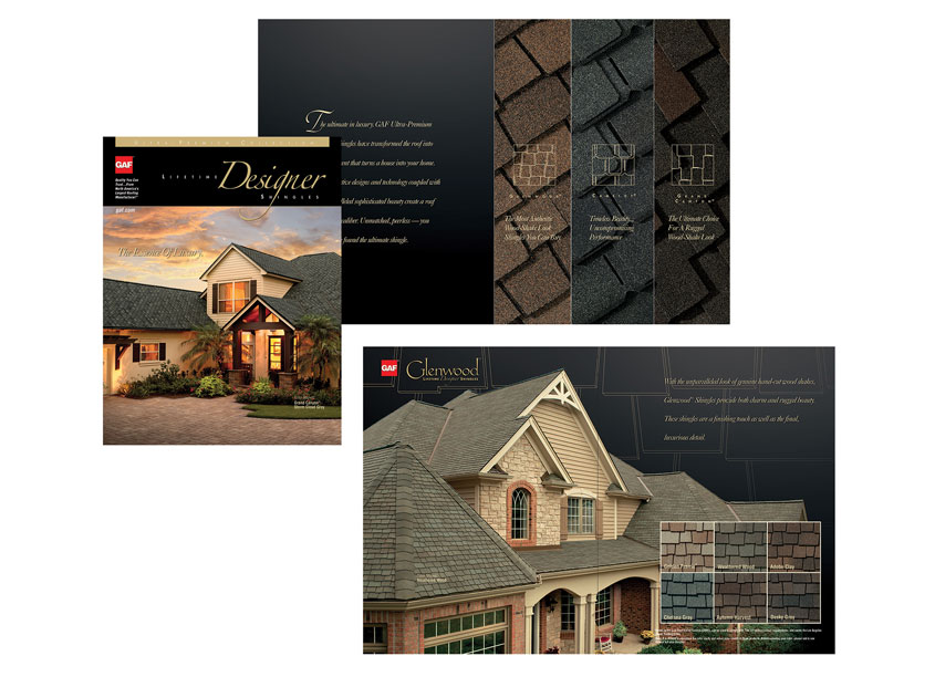 Ultra Premium Brochure by GAF Creative Design Services