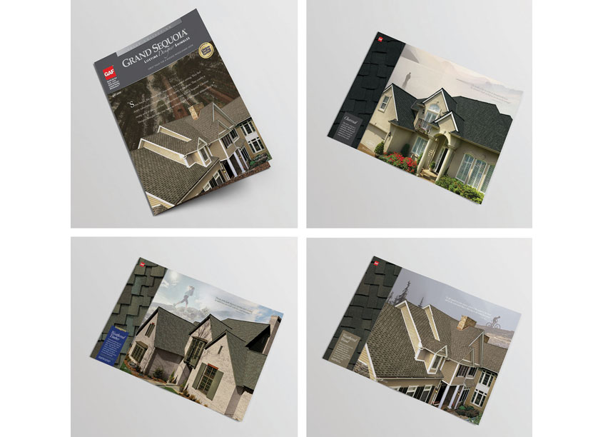 Grand Sequoia-Value Collection Designer Shingles Brochure by GAF Creative Design Services