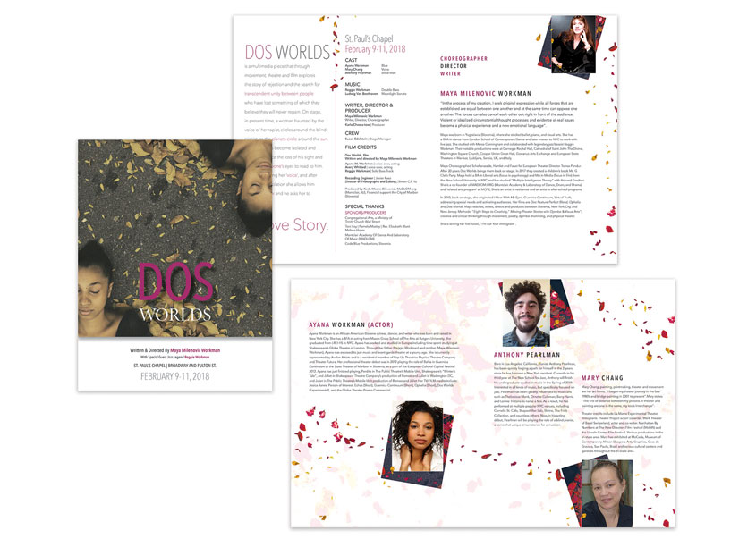 Dos Worlds Brochure and Collateral by Trinity Wall Street