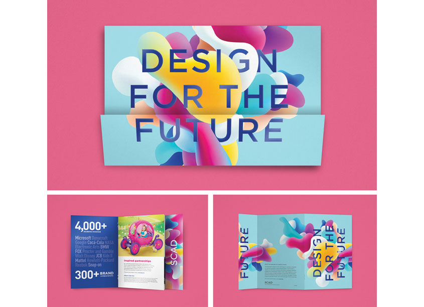 Design for the Future Brochure by Savannah College of Art and Design (SCAD)