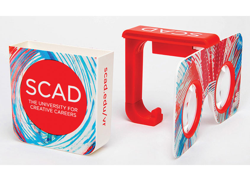 Savannah College of Art and Design (SCAD) SCAD Recruitment VR Goggles