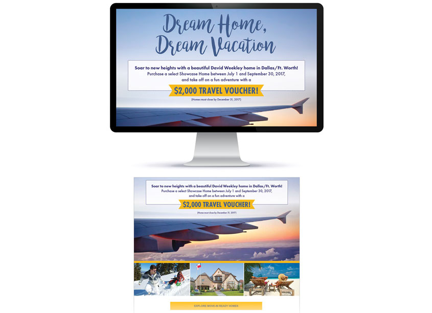 Dream Home, Dream Vacation by David Weekley Homes