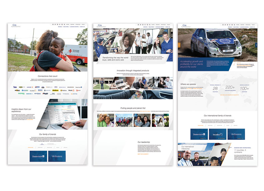 Cox Automotive Website by Cox Automotive