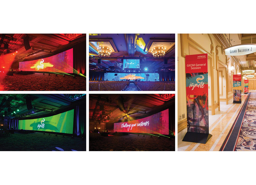 Hitachi Vantara Ignite 2018 Event Graphics