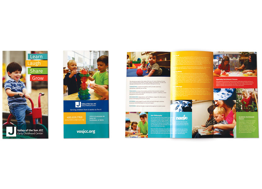 Valley of the Sun Jewish Community Center Early Childhood Center Brochure